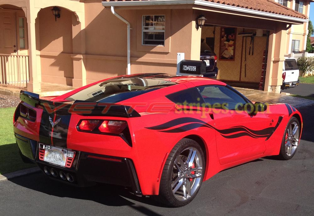2015 Corvette Colors >> C7 Corvette Stingray Side Stripes - both sides - VetteStripes.com