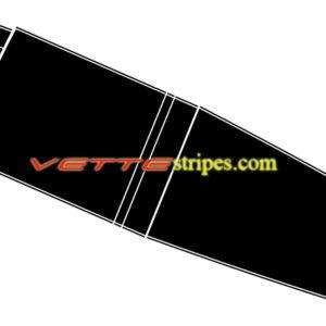 C4 Corvette classic stripe