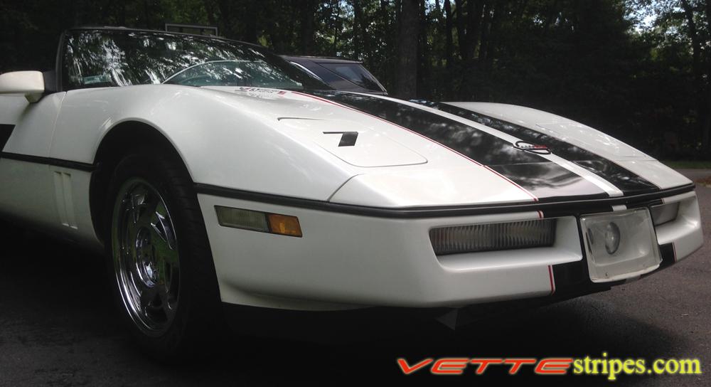 C4 Corvette Full Length Body Racing Stripes
