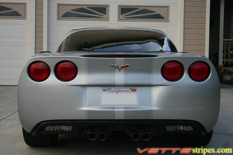 C6 Corvette Racing 2 Stripes Fit Standard C6 S