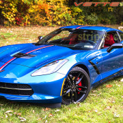 C7 Corvette Stingray Z06 Twilight edition stripe 3