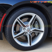 C7 Corvette Stingray wheel decal style B 2