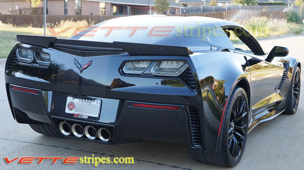 C7 Corvette Z06 GM Full Length Racing Stripes ...