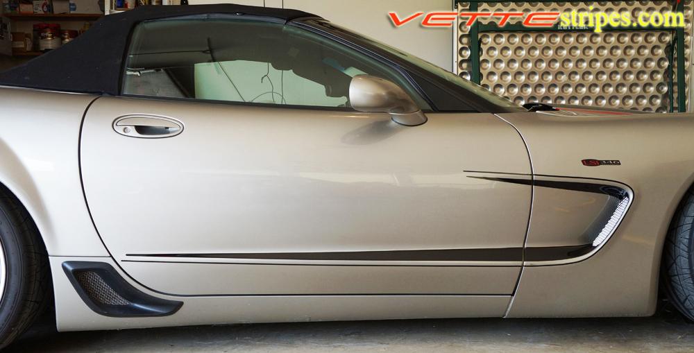 C5 Corvette Side Stripe 3 Fit All C5 Models