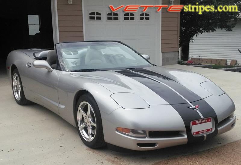 C5 Corvette Racing 3 Stripes Vettestripes Com