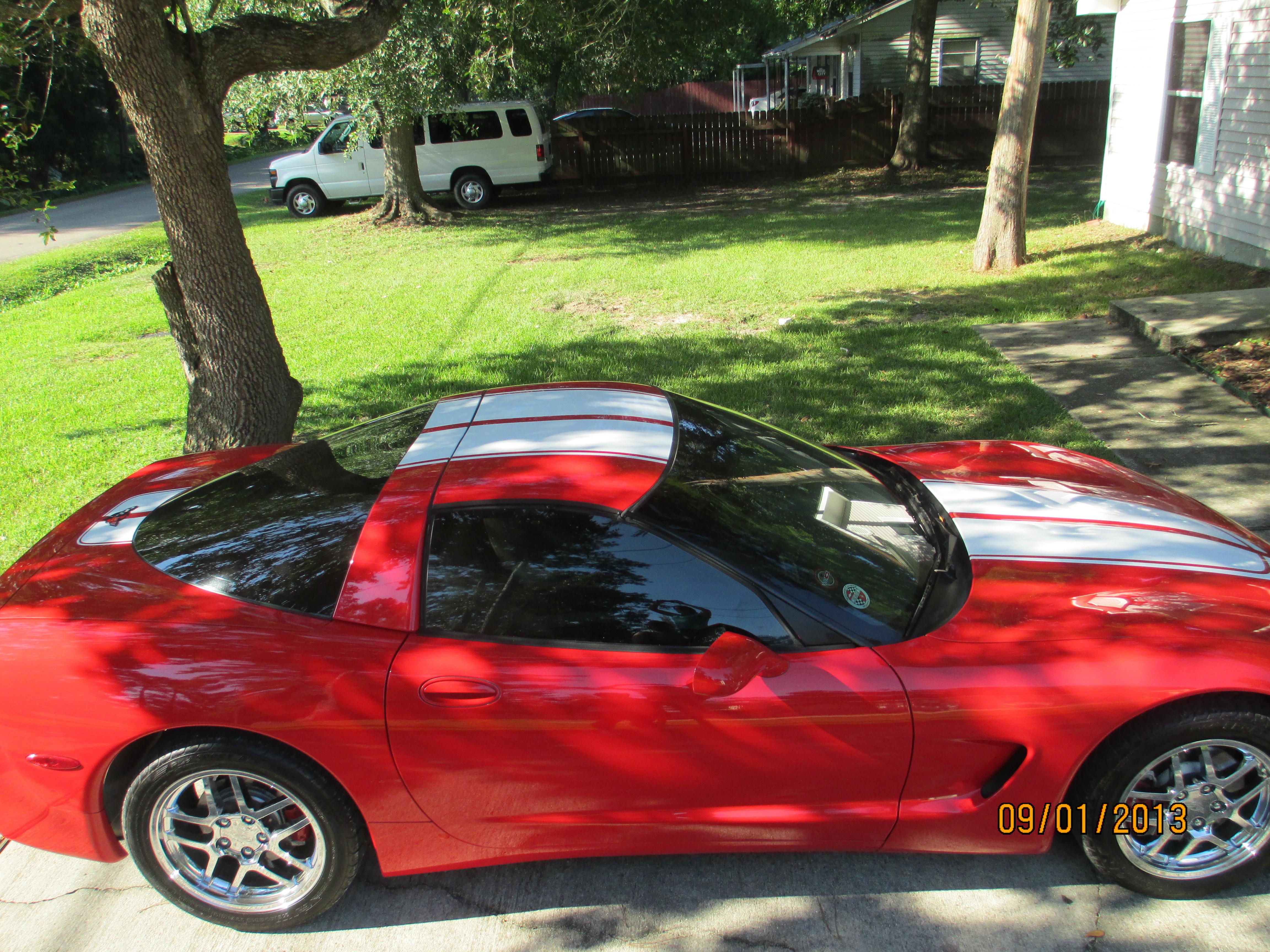 C5 Corvette Ce Commemorative Edition Stripes