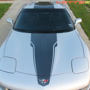 C5 Corvette with black SE stripe