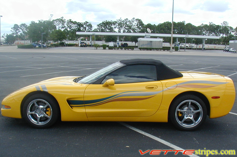 C5 Corvette Side Stripes Vettestripes Com