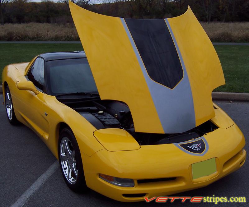 C5 Corvette Gt1 Stripes All C5 S Models Vettestripes Com