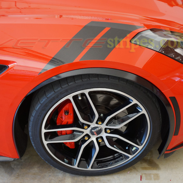 C6 Grand Sport >> C7 Corvette Stingray Grand Sport fender hash marks stripes - VetteStripes.comVetteStripes.com