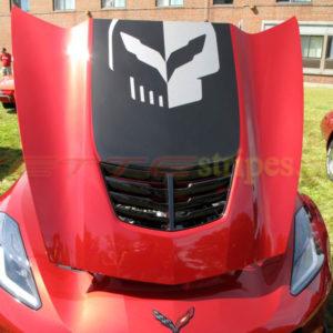 C7 Corvette Z06 jake skull