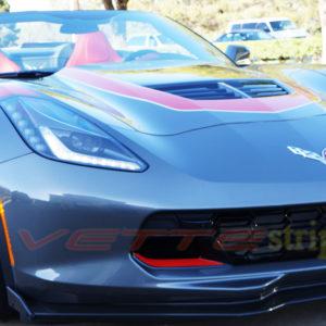 C7 corvette grand sport Z06 brake scoop enhancement