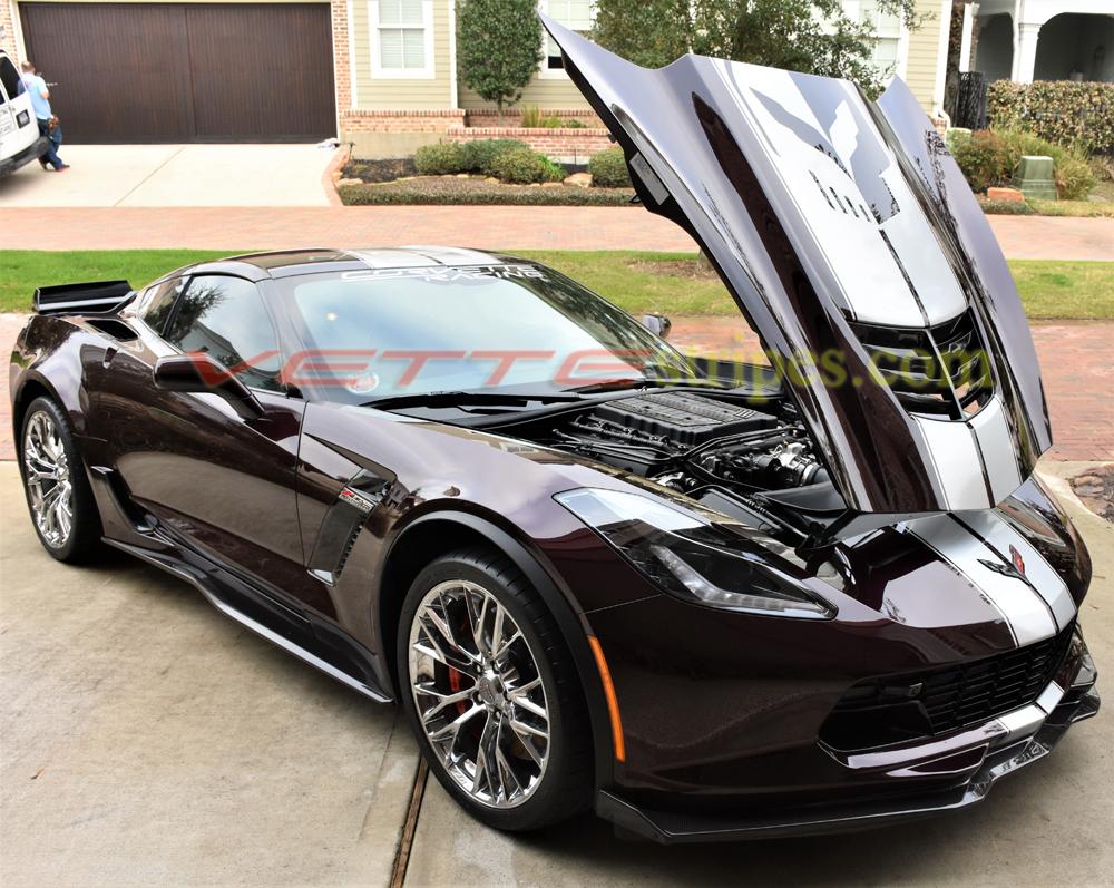 Corvette Z06 2019 >> 2015-2019 C7 Corvette Z06 GM Full Racing Stripe 2 - VetteStripes.com