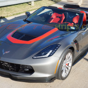 c7 corvette z06 shark grey with GT1 stripe (2)