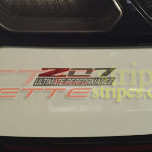 C7 Corvette Z07 ultimate performance decal (1)