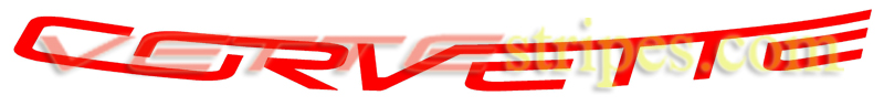 C7 Stingray Grand Sport Z06 Corvette Windshield letter decals