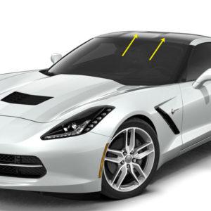 C7 Corvette coupe roof blackout like carbon fiber roof